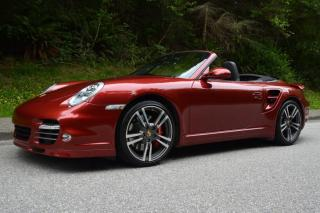 Used 2011 Porsche 911 Turbo Cabriolet AWD for sale in Vancouver, BC