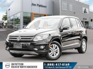 Used 2015 Volkswagen Tiguan Trendline 4 Motion AWD - LOCAL - ONE OWNER for sale in North Vancouver, BC