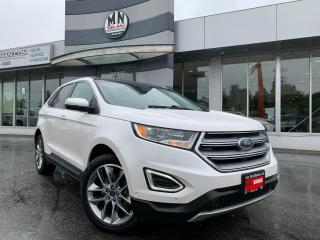 Used 2017 Ford Edge Titanium AWD ECO-BOOST LEATHER SUNROOF NAVI CAMERA for sale in Langley, BC