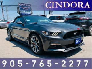 Used 2017 Ford Mustang GT Premium, 6 speed, Leather, Nav for sale in Caledonia, ON