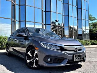 Used 2016 Honda Civic Sedan Touring for sale in Brampton, ON