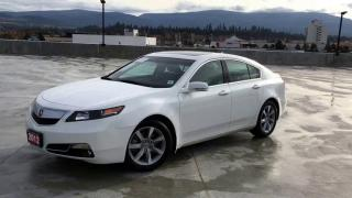 Used 2012 Acura TL SH-AWD w/Tech Pkg Navigation Reverse Camera for sale in Concord, ON