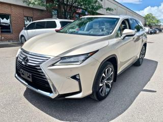 Used 2018 Lexus RX 350 RX 350L Auto, 7 SEATER, LUXURY PKG, NO ACCIDENT for sale in North York, ON