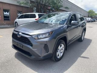 Used 2019 Toyota RAV4 AWD Hybrid LE, REAR VIEW CAMERA for sale in North York, ON