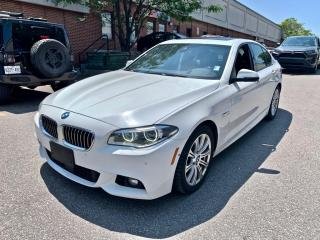 Used 2014 BMW 5 Series 4dr Sdn 535d xDrive AWD, M-SPORT PKG, TECH PKG for sale in North York, ON