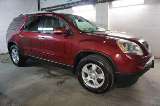 Used 2011 GMC Acadia SLE-2 7 PSSNGRS CAMERA CERTIFIED 2YR WARRANTY *FREE ACCIDENT*1 OWNER* BLUETOOTH ALLOYS ENGINE R START CRUISE REAR TEMP CONTROL for sale in Milton, ON