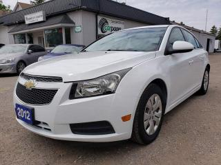 Used 2012 Chevrolet Cruze 1LT for sale in Bloomingdale, ON
