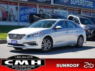 Used 2017 Hyundai Sonata GLS  CAM ROOF P/SEAT HTD-SEATS 16-AL for sale in St. Catharines, ON