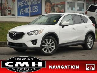 Used 2014 Mazda CX-5 GT  NAV CAM ROOF LEATH P/SEAT 19-AL for sale in St. Catharines, ON