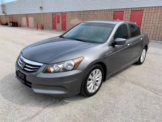 Used 2012 Honda Accord EX-L | LEATHER | SUNROOF | for sale in Barrie, ON