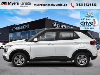 New 2021 Hyundai Venue Preferred w/Two-Tone IVT  - $174 B/W for sale in Kanata, ON