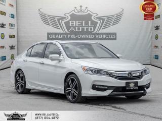 Used 2017 Honda Accord Sedan Sport, RearCam, SunRoof, Bluetooth, HeatedSeats, PushStart for sale in Toronto, ON