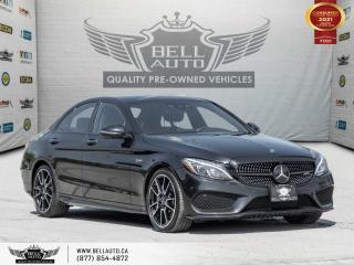 Used 2018 Mercedes-Benz C-Class AMG C 43, AWD, Navi, 360Cam, Pano, NoAccident for sale in Toronto, ON