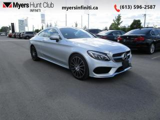 Used 2017 Mercedes-Benz C-Class 2DR Coupe C300 4MAT for sale in Ottawa, ON