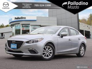 Used 2014 Mazda MAZDA3 GS-SKY - ONE OWNER - GREAT STARTER VEHICLE for sale in Sudbury, ON