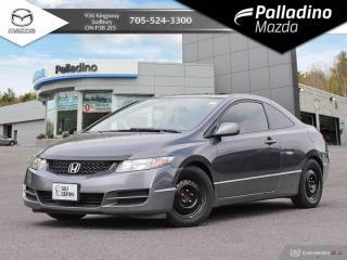Used 2009 Honda Civic Cpe LX - SELF CERTIFY for sale in Sudbury, ON
