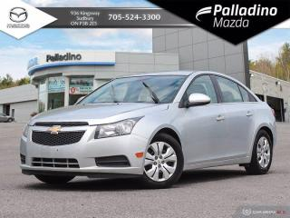 Used 2014 Chevrolet Cruze 1LT - SELF CERTIFY for sale in Sudbury, ON