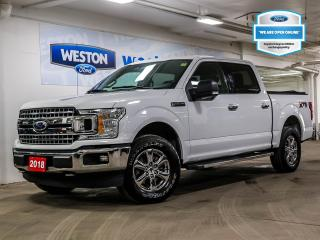 Used 2018 Ford F-150 XLT+4x4+CAMERA+REMOTE START+NAVIGATION+TRAILER TOW PACKAGE for sale in Toronto, ON