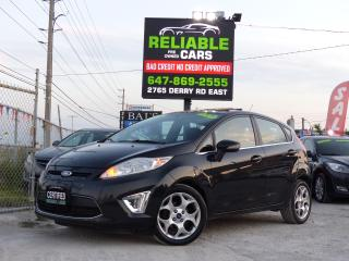 Used 2011 Ford Fiesta SES,LEATHER,SUNROOF,LOADED,CERTIFIED,NO-ACCIDENT, for sale in Mississauga, ON