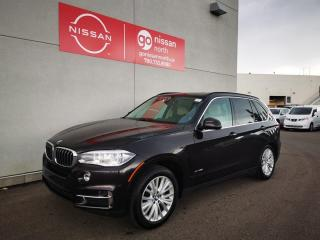 Used 2015 BMW X5 xDrive35i / Used BMW Dealership / One Owner / No Reported Accidents / Leather / Roof for sale in Edmonton, AB