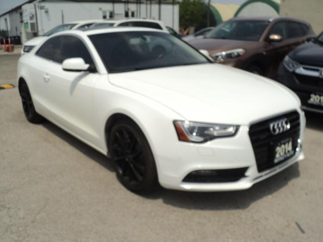 2014 Audi A5 premium  LEATHER,SUN ROOF