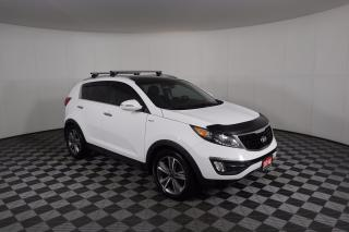 Used 2014 Kia Sportage SX 1 OWNER - NO ACCIDENTS   AWD   LEATHER   MOONROOF   2 SETS OF WHEELS for sale in Huntsville, ON