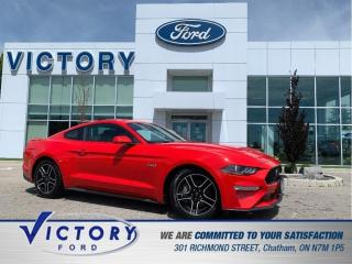 Used 2018 Ford Mustang GT | 6 SPEED MANUAL | PUSH BUTTON START | KEYLESS for sale in Chatham, ON