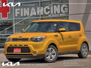 Used 2014 Kia Soul LX | Bluetooth | Air Condition | Power Options for sale in St Catharines, ON