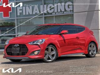 Used 2014 Hyundai Veloster Turbo for sale in St Catharines, ON