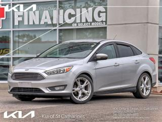 Used 2015 Ford Focus TITANIUM | LEATHER | NAVI | CLIMATE CONTROL for sale in St Catharines, ON