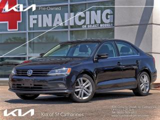 Used 2015 Volkswagen Jetta Highline TSI Manual for sale in St Catharines, ON
