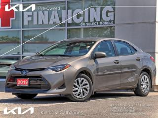 Used 2019 Toyota Corolla LE | Safety Suite | Smart Cruise | Climate Ctrl for sale in St Catharines, ON
