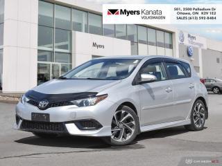 Used 2017 Toyota Corolla iM Man  - Heated Seats -  Bluetooth for sale in Kanata, ON