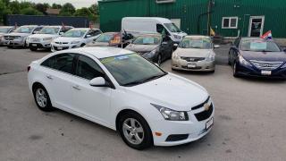 Used 2014 Chevrolet Cruze 2LT for sale in Burlington, ON