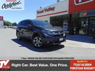 Used 2018 Honda CR-V EX-L AWD for sale in Peterborough, ON
