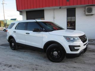 Used 2017 Ford Police Interceptor Utility $14,995+HST+LIC FEE / CLEAN CARFAX / CERTIFIED / ALL WHEEL DRIVE for sale in North York, ON