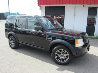 Used 2007 Land Rover LR3 SE $9,995+HST+LIC FEE / CLEAN CARFAX / 7 PASSENGER / DVD PLAYER for sale in North York, ON