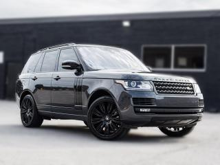 Used 2017 Land Rover Range Rover Td6 HSE for sale in Toronto, ON