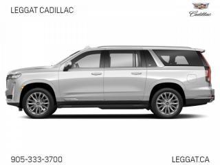 New 2021 Cadillac Escalade ESV Sport Platinum for sale in Burlington, ON