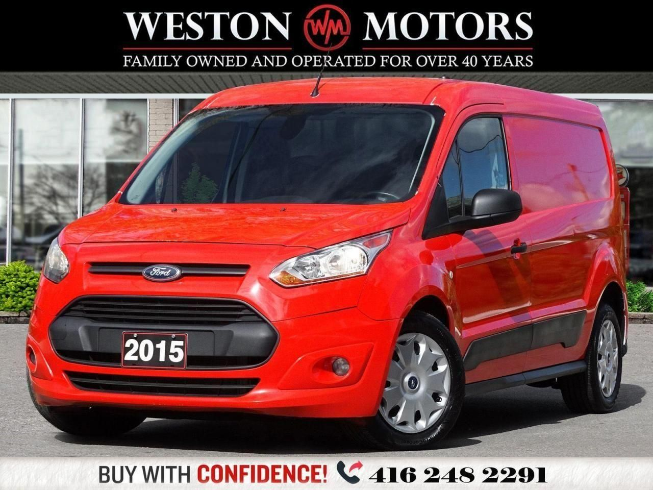 2015 Ford Transit Connect *4 CYL*SHELVING*DUAL DOORS!!*