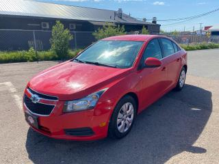 Used 2014 Chevrolet Cruze 1LT / Clean CARFAX / New MVI / ONLY $69 BI-WEEKLY for sale in Truro, NS
