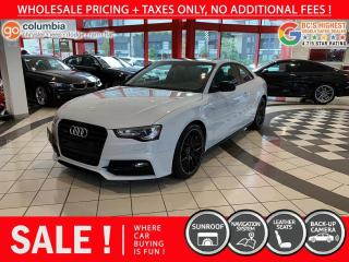 Used 2016 Audi A5 Technik - Nav / Sunroof / No Dealer Fees / Leather for sale in Richmond, BC