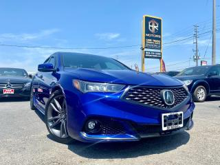 Used 2018 Acura TLX Loaded |Tech A-Spec | Sun roof | Hseats| Certified for sale in Brampton, ON