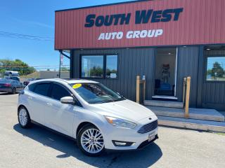 Used 2015 Ford Focus Titanium|NAV|BackUp|Htd Lthr Seats|Bluetooth|Alloy for sale in London, ON