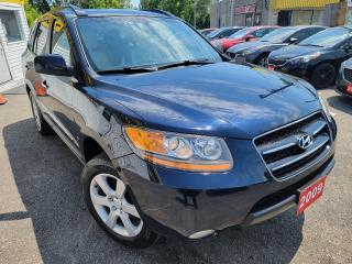 Used 2009 Hyundai Santa Fe Limited/AWD/LEATHER/ROOF/LOADED/ALLOYS for sale in Scarborough, ON