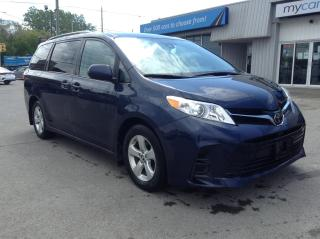 Used 2018 Toyota Sienna LE 8-Passenger 8 PASS, PWR HEATED SEAT, PWR DOORS, BACKUP CAM!! for sale in Richmond, ON