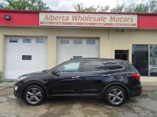 Used 2013 Hyundai Santa Fe XL LIMITED w/Saddle Int for sale in Edmonton, AB