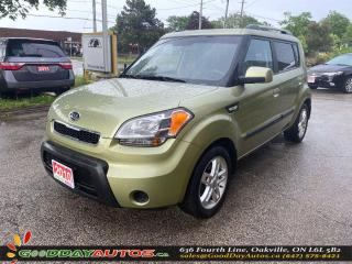Used 2010 Kia Soul 2U|LOW KM|NO ACCIDENT|BLUETOOTH|CERTIFIED for sale in Oakville, ON
