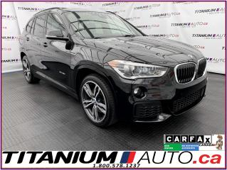 Used 2017 BMW X1 M-PKG+Lane Assist+HUD+Pano Roof+GPS+Camera+Sensors for sale in London, ON