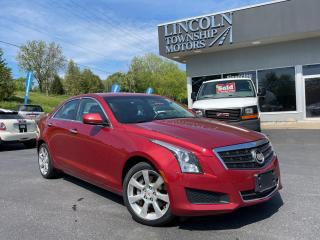 Used 2014 Cadillac ATS AWD for sale in Beamsville, ON